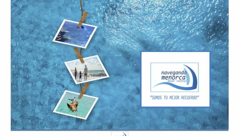 """Las vacaciones de Carmen con """"Navegando en Menorca""""."""